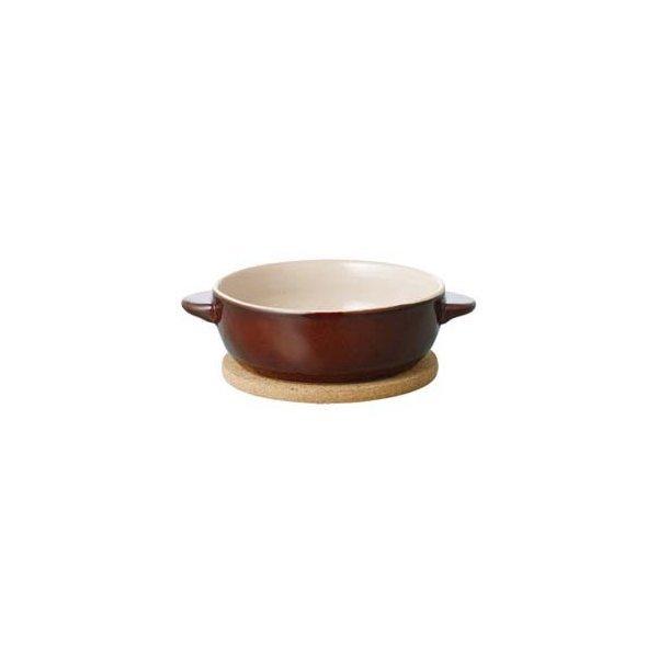 KINTO キントー ほっくり丸グラタン 茶 16476 5997110の1枚目の写真