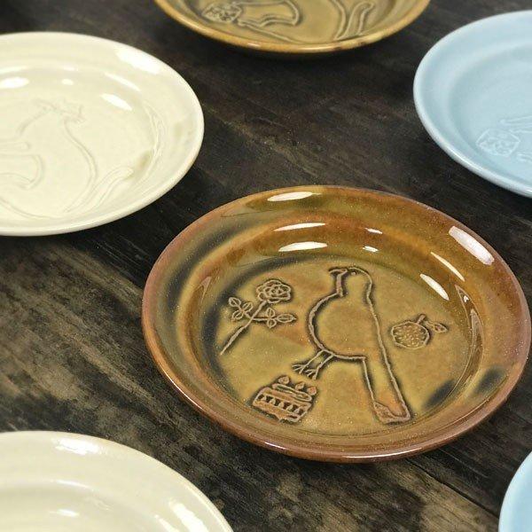 倉敷意匠計画室 トラネコボンボン ラウンド豆皿 猫 雑貨 グッズの1枚目の写真