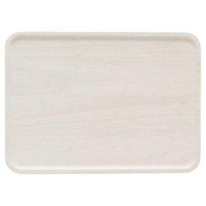 アカシア 木製プレート L 白 AA-003WHの1枚目の写真