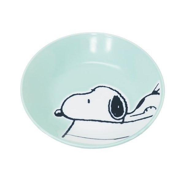 スヌーピー 撥水 プレート M 寝そべりスヌーピー グッズ 中皿 キャラクター ピーナッツ マリモクラフト ギフト食器の1枚目の写真
