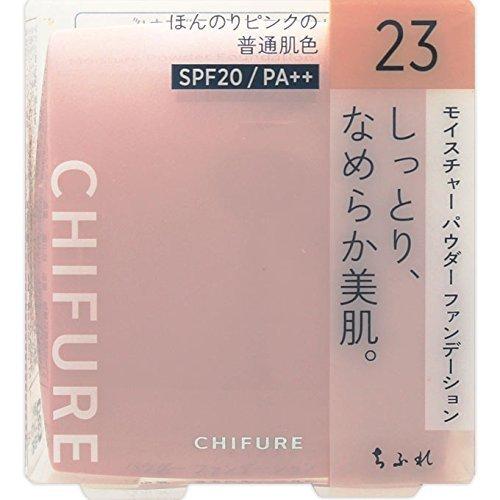 ちふれ化粧品 モイスチャー パウダーファンデーション 23 ピンクオークル系 MパウダーFD23の1枚目の写真