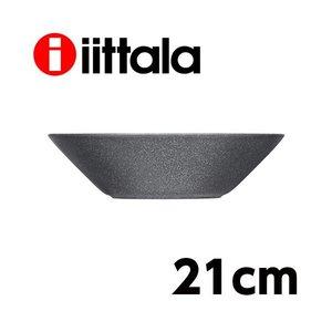 iittala イッタラ ティーマ Teema ディープ プレート 21cm ドッテドグレーの1枚目の写真
