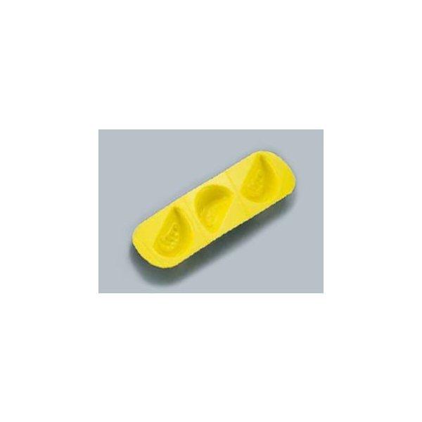 ASAHI/旭電機化成 ソフト食シリコン型 トマト型/AST−Y イエローの1枚目の写真