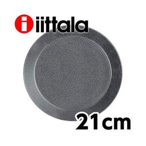 iittala イッタラ ティーマ Teema プレート 21cm ドッテドグレーの1枚目の写真