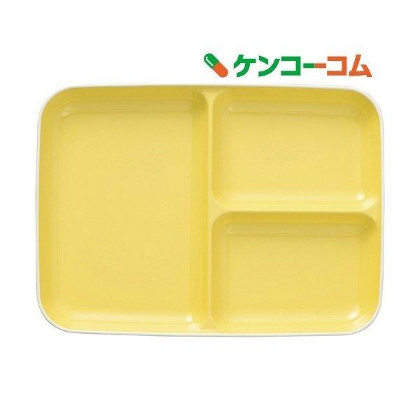 皿 キッチンスタイル ランチ皿 L ライトイエロー 21.8*30*2.9cmの1枚目の写真