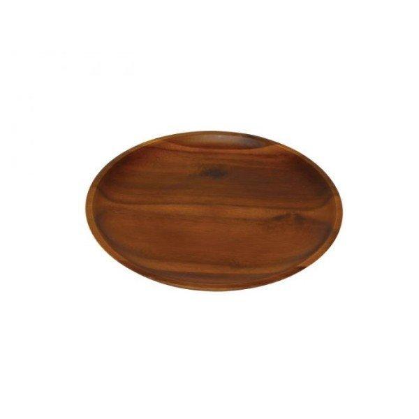 アカシア 丸プレート25cm 100380701の1枚目の写真