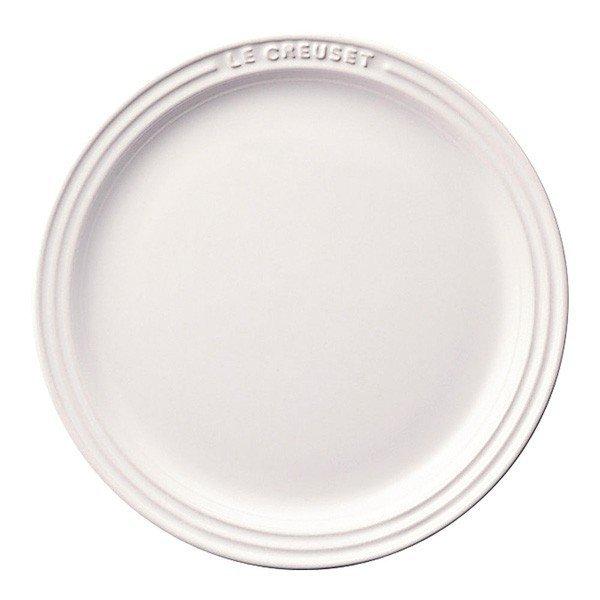 ル・クルーゼ ラウンド・プレート・LC 910140-19 ホワイトの1枚目の写真
