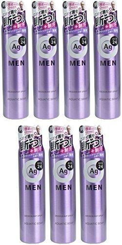エージーデオ24 メンズ デオドラントスプレー アクアティックソープの香り 100gの1枚目の写真