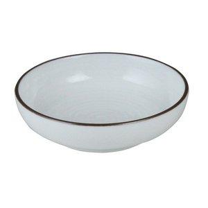 白山陶器 深皿 3.0 白 9.5×2.5cm 白磁千段 HAKUJISENDAN 波佐見焼 日本製の1枚目の写真
