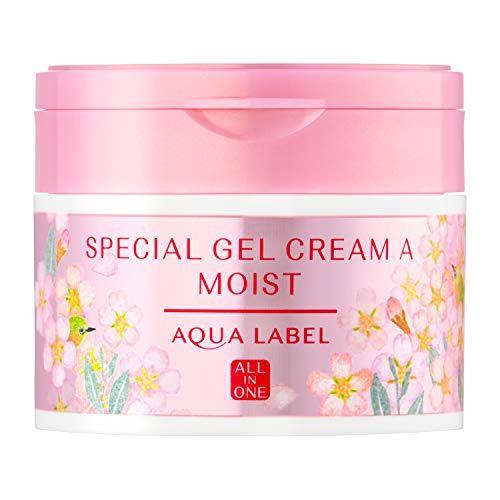 アクアレーベル スペシャルジェルクリームA  桜の香り 90gの1枚目の写真