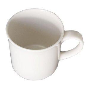 森修焼 フラワーオブライフ マグカップ 白の1枚目の写真