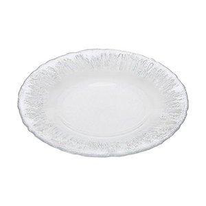 ヴェトロ・フェリーチェ 中皿 洋食器 プレート シルバー 21.5cm 幸せのガラス フラッシュ 349122Pの1枚目の写真