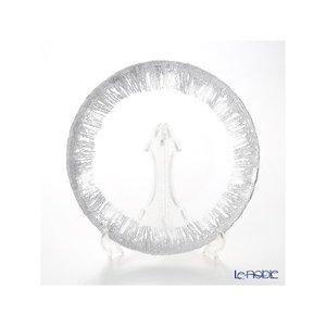 Vetro Felice ヴェトロ フェリーチェ フラッシュ 349128P プレート 28cm クリア&シルバー 6/12 皿の1枚目の写真