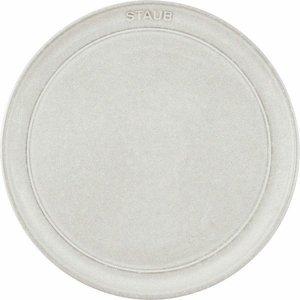 staub ストウブ 中皿 セラミック 陶器 電子レンジ対応Ceramic Plate 40508-059の1枚目の写真