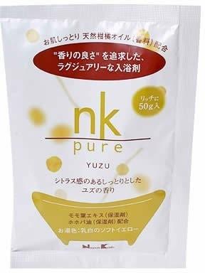 nk pure 入浴剤 ユズ 50gの1枚目の写真