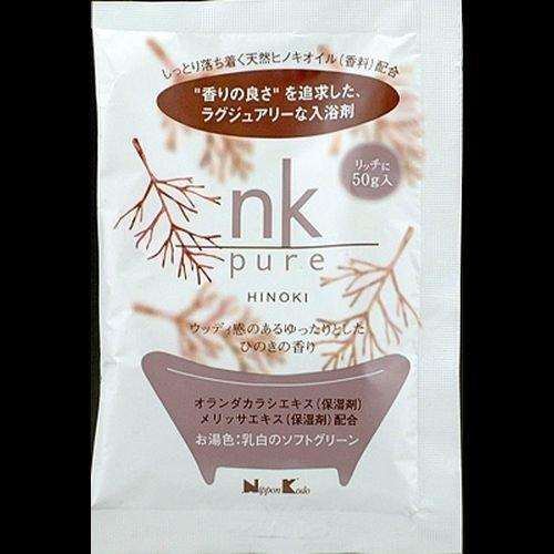 nk pure 入浴剤 ヒノキ / 日本香堂の1枚目の写真