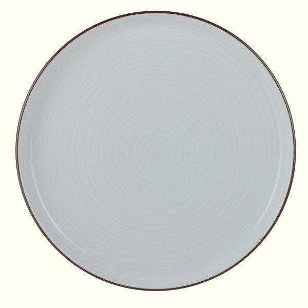 白山陶器 平皿 7号 白 21.5cm 白磁千段 HAKUJISENDAN 波佐見焼 日本製の1枚目の写真