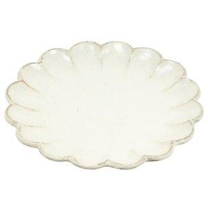 光陽陶器 大皿 24.5cm リンカ 24プレート 白練 40801の1枚目の写真