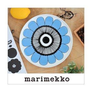 マリメッコ プレート ケスティト ブルー marimekko KESTIT 20cm 34 159の1枚目の写真