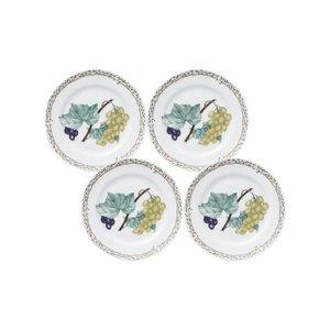 Noritake ノリタケ プレート セット 17cm オーチャードガーデン 電子レンジ対応 4枚 ボーンチャイナ 97812_4/4911の1枚目の写真