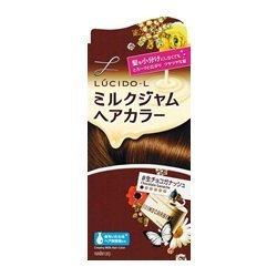ルシードエル ミルクジャムヘアカラー#生チョコガナッシュ レディース用 髪染め 1剤40g・2剤80ml・TR5g  マンダムの1枚目の写真
