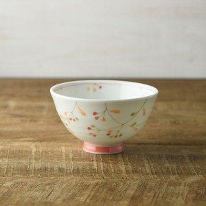 木の実 11cm茶碗 赤の1枚目の写真