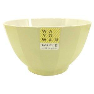 アサヒ興洋 お椀 大椀 角型 WAYOWAN ペールグリーン 約直径12.4×高さ7cm 食洗機対応 電子レンジ対応 手になじむの1枚目の写真