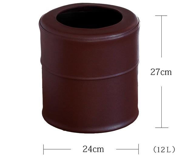 ゴミ箱 PVCレザーゴミ箱 pinoco Mサイズの1枚目の写真