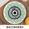 マリメッコ プレート ケスティト ミントグリーン marimekko KESTIT 20cm 42 42 169の1枚目の写真