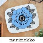 マリメッコ プレート ケスティト 角皿 ブルー marimekko KESTIT 15×12cm 34 159の1枚目の写真