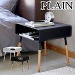 サイドテーブル おしゃれ 北欧 収納 コンパクト コーヒーテーブル ウッド テーブルの1枚目の写真