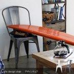 チェア 椅子 おしゃれ ダイニング デスクチェア ホワイト 積み重ね アイアン 安いの1枚目の写真