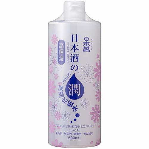 日本盛 日本酒のたっぷり保湿化粧水 しっとり 500mlの1枚目の写真