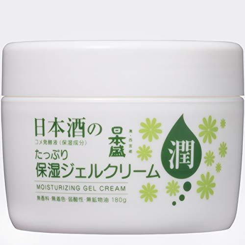 日本盛 日本酒の保湿ジェルクリーム 180gの1枚目の写真