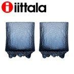 iittala イッタラ ウルティマツーレ Ultima Thule グラス オールドファッション S 200ml レイン 2個セットの1枚目の写真