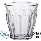 デュラレックス DURALEX/ ピカルディ 250cc /グラス タンブラー 業務用 ホット カフェ おしゃれ ガラス コップ 強化 レンジOK 熱湯OK 割れにくい ポイント消化の1枚目の写真