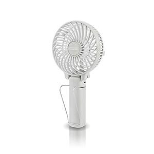 充電式マルチハンディファン アロマトレー付 PR-F015-WH(ホワイト)の1枚目の写真