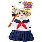 ペティオ (Petio) 猫用変身着ぐるみウェア セーラー服の1枚目の写真