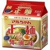 マルちゃん正麺 醤油味 5食パックの1枚目の写真