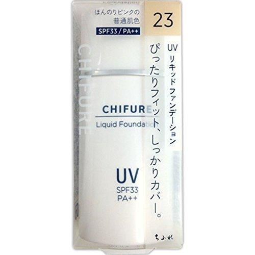ちふれ化粧品 UV リキッド ファンデーション 23 ほんのりピンク普通肌色 30MLの1枚目の写真
