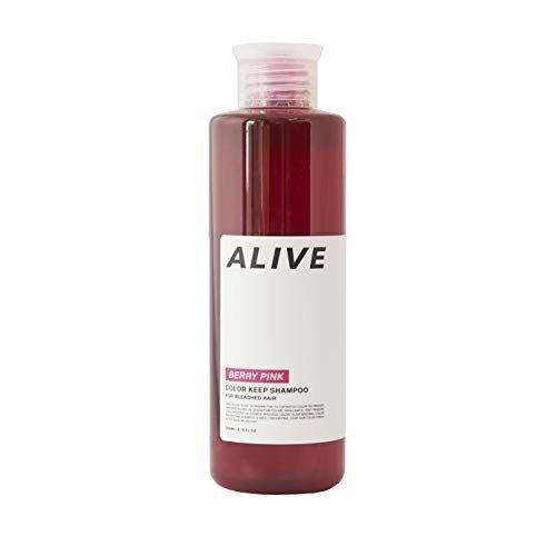 ALIVE カラーキープシャンプー 極濃ベリーピンク の1枚目の写真