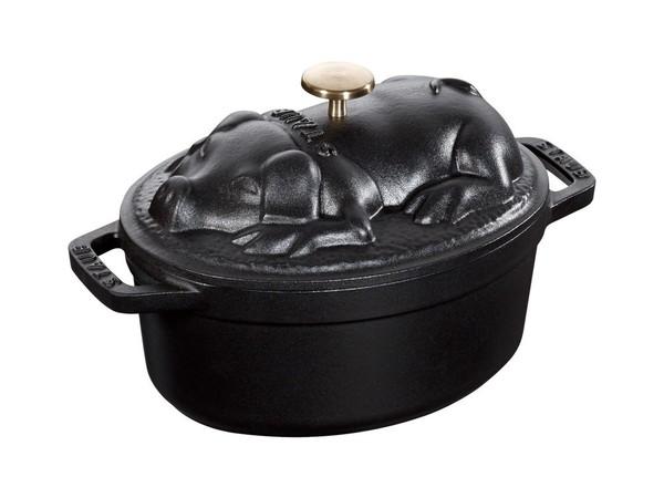 ピギーココット オーバル ブラック (40500-171)の1枚目の写真