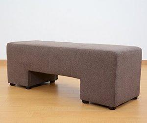 Ange bench and stool 2pの1枚目の写真