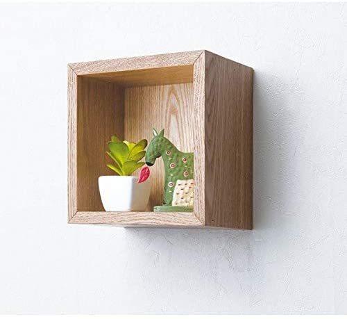 ウォールシェルフ ボックス型 幅20cm(ナチュラル)  4個セットの1枚目の写真