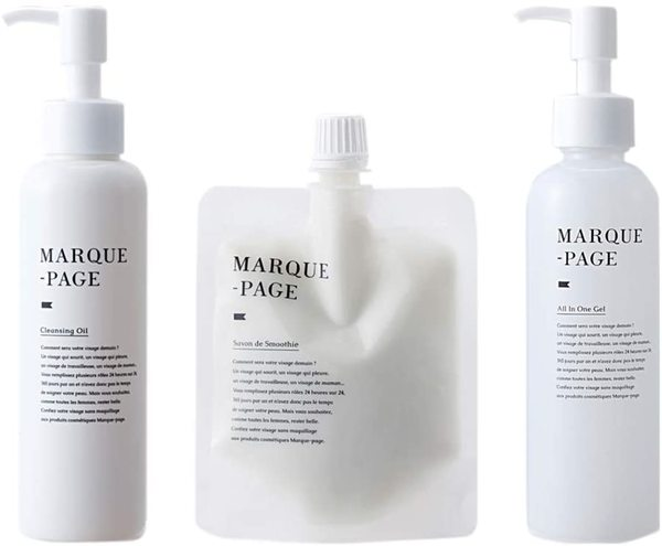 MARQUE-PAGE マルクパージュ クレンジング・洗顔・美容保湿ゲル 3セットの1枚目の写真