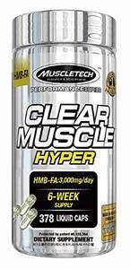 MUSCLETECH CLEAR MUSCLE HYPERの1枚目の写真