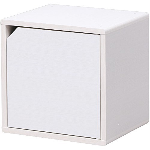 QRボックス 扉タイプ QR-34D(ホワイト)の1枚目の写真