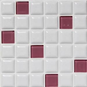 モザイクタイル プチコレガラスMIX パープルの1枚目の写真