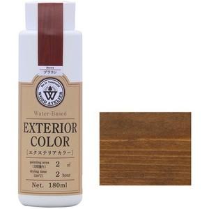 エクステリアカラー ブラウン  水性着色剤 ウッドアトリエの1枚目の写真