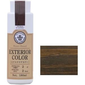 エクステリアカラー ダークブラウン  水性着色剤 ウッドアトリエの1枚目の写真